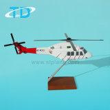 Regalo del asunto del modelo de la resina del helicóptero Ab-139