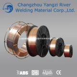 Fil Er70s-6 acier-cuivre à faible teneur en carbone pour la soudure de Constructure