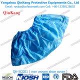 Non couverture remplaçable de chaussure de la glissade PP+PE pour médical