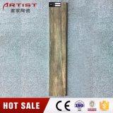 Mattonelle poco costose lustrate mattonelle di legno di ceramica di prezzi delle mattonelle di pavimento di struttura