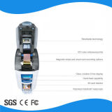 Il doppio ha parteggiato stampante in bianco della scheda di identificazione del PVC RFID di stampa