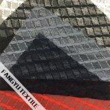 Linha tela de nylon do laço do estiramento do projeto para o vestido da menina