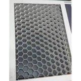 Panneau en aluminium en pierre de nid d'abeilles pour le revêtement de façade