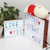 편지를 가진 가벼운 상자를 광고하는 A4 크기 편지 가벼운 상자
