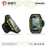 Anrechenbares Li-Polymer-Plastik Batterie-Armbinde-Neopren-wasserdichter Sport-Armbinde-Telefon-Kasten