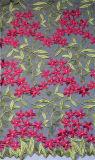 Причудливый цветастый шнурок вышивки листьев и Floret для Dressing повелительницы