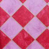 Materia textil Wallcovering, pintura de la pared, papel pintado del PVC que hace espuma