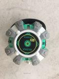 Измеряя уровень лазера луча вкладыша 5 лазера инструмента зеленый