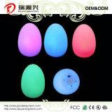 Kleurrijke LEIDEN van de Vorm van het ei Licht voor de Decoratie van de Partij/van het Festival/van Kerstmis