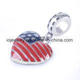 Charme van de Vlag van de Douane van het Metaal van de Fabriek van China de In het groot