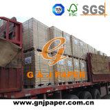 Papier vergé de bonne feuille non-enduite blanche de douceur fabriqué en Chine
