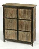 Античный шкаф древесины мебели дома дома конструкции