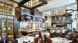 Meubles de restaurant en gros d'hôtel, Tableau de restaurant et présidence en bois