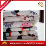子供の柔らかい動物によって印刷されるミンクの綿毛布