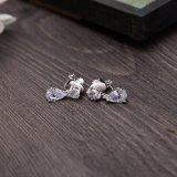 Wedding Bridal серебряное кристаллический ожерелье Rhinestone перлы