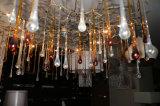 Iluminação de cristal Sparkling do candelabro das gotas do halogênio