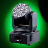 Controllo nuovo RGBW del suono che sposta l'indicatore luminoso della parete del LED