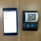 impressora térmica de Bluetooth do Portable de 58mm para a impressão de Ceceipt do restaurante
