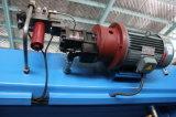 Máquina de dobra hidráulica Wc67k do metal