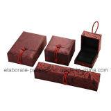 Caja popular al por mayor hecha a mano clásica de la joyería de la caja de embalaje de la joyería
