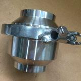 Dn100 задерживающий клапан сварки нержавеющей стали Ss304 Ss316L санитарный