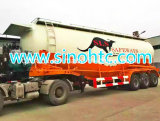 De bulk Aanhangwagen van de Tanker van het Cement voor Cement