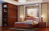 최대 대중적인 침실 가구 나무로 되는 고대 옷장