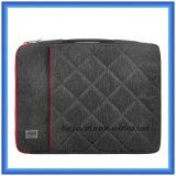 工場製造業者の耐震性の細いラップトップのブリーフケース袋、ジッパーが付いている柔らかい毛皮のライニングのラップトップの袖