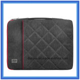 Fábrica Fabricante Shockproof Slim Laptop Briefcase Bag, Soft Fur Forro Laptop Sleeve com Zipper