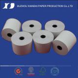 Le plus populaire tout le roulis de papier thermosensible de genres 4 pouces a coloré le roulis de papier thermosensible