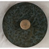 Antiker blauer Zinn-Metallgarten-Blumen-Potenziometer