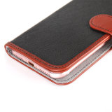 Telemóvel Leather Wallet Phone Case iPhone 7 Samsung S8