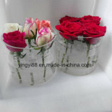Impermeable Caja De Flor De Acrílico Transparente / Rose Caja De Embalaje Shenzhen Manufacturer