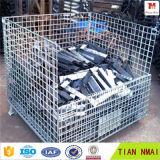 Промышленные складные клетки хранения клетки/металла провода