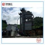 secador de tambor del 1.8m de los x 7m planta de mezcla caliente del asfalto de la mezcla de 120 t/h con la emisión inferior