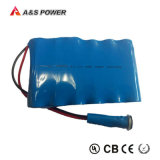 pacchetto ricaricabile della batteria dello Li-ione del litio di 12V 11.1V 40ah 18650
