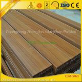 Zhonglian a personnalisé l'extrusion en bois d'aluminium des graines enduite par poudre colorée