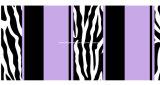Streifen Pigment&Disperse des Zebra-100%Polyester druckten Gewebe für Bettwäsche-Set