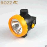 lampe d'extraction sans fil de mineurs du certificat 1W DEL de la CE d'ion de 2ah Li Bk2000