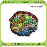 Ricordo promozionale personalizzato Punta Cana dei magneti del frigorifero del PVC dei regali della decorazione (RC- FANNO)