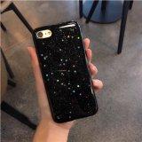 نجم أسود تلألؤ هاتف حالة تغطية لأنّ [إيفون] 7 [7بلوس]