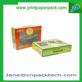 Boîte de empaquetage personnalisée à confiserie de sucrerie de guichet de PVC