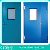 Porte a battenti aderenti di rossoreare del metallo della stanza pulita di GMP per alimento o industrie farmaceutiche