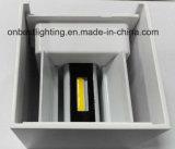 Luz quente do diodo emissor de luz da luz 10W da parede de Ajustable da venda em IP65