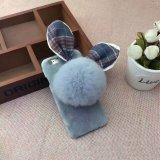 Capa de pele de lã Wool Fluffy Villi Fur Plush