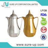 De nieuwe Gouden/Arabische van het Glas Siliver Pot 1.0L- In het groot Manufactory van de Koffie van de Nieuwe vulling