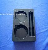 Schwarzes Belüftung-Tellersegment für Kosmetik-gesetztes Plastikblasen-Tellersegment für Haut-Sorgfalt-Produkte