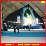 Tende della tenda foranea dell'alto picco della tenda di sport esterni di figura curva della struttura di sicurezza