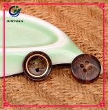 Acessórios do vestuário da tecla da tecla 4holes do revestimento do terno