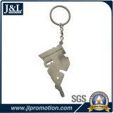 鉄の柔らかいエナメルのKeychain打たれたOEM Keychainを停止しなさい